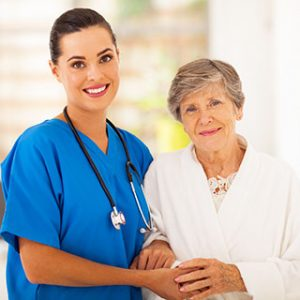 Caregiver and Elderly Woman | Companion Care Raleigh